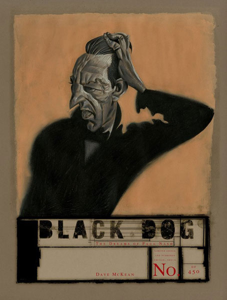 Dave Mckean, Black Dog. The Dreams of Paul Nash, 2016