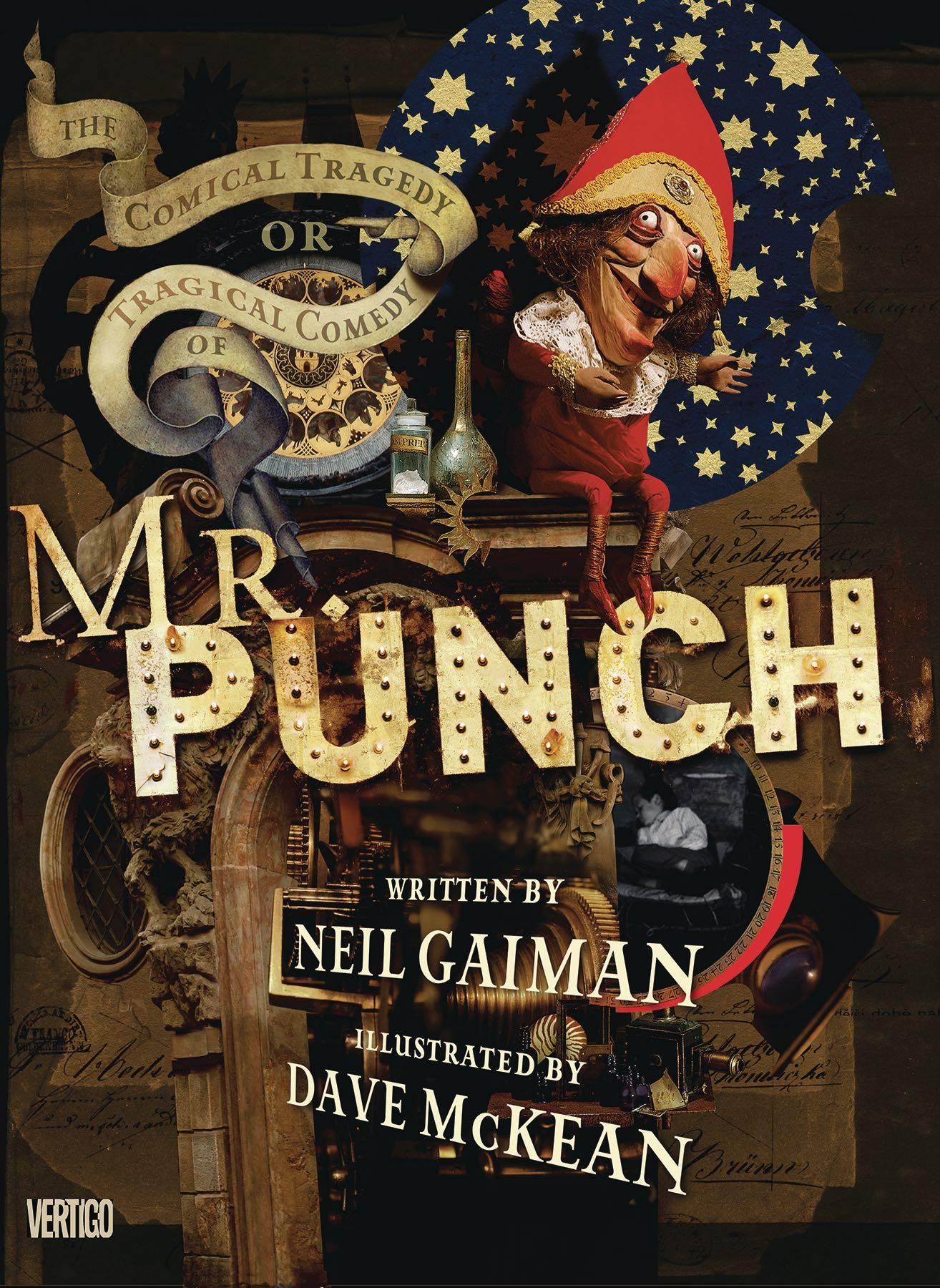Neil Gaiman, Dave McKean, Mr. Punch, Titelmotiv, 1992